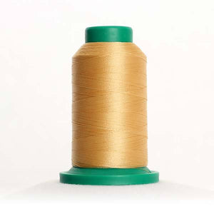 Isacord 5000m/5500yd 40wt solid trilobal polyester thread  number 0651 Cornsilk