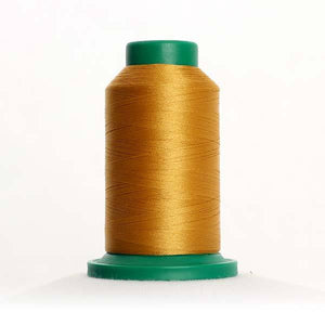 Isacord 5000m/5500yd 40wt solid trilobal polyester thread  number 0721 Antique