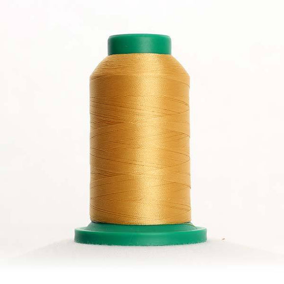Isacord 5000m/5500yd 40wt solid trilobal polyester thread  number 0731 Applesauce