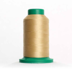 Isacord 5000m/5500yd 40wt solid trilobal polyester thread  number 0771 Rattan