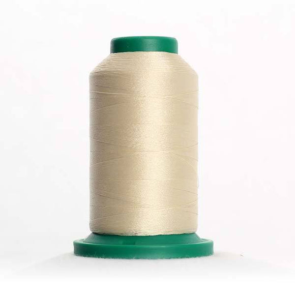 Isacord 5000m/5500yd 40wt solid trilobal polyester thread  number 0781 Candlewick