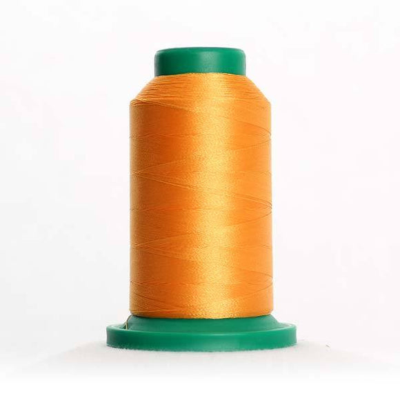 Isacord 5000m/5500yd 40wt solid trilobal polyester thread  number 0811 Candlelight