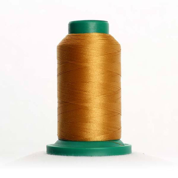 Isacord 5000m/5500yd 40wt solid trilobal polyester thread  number 0822 Palomino