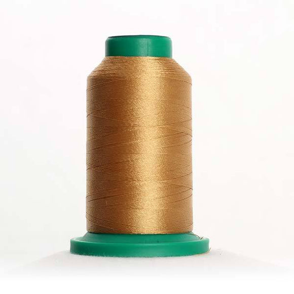 Isacord 5000m/5500yd 40wt solid trilobal polyester thread  number 0832 Sisal