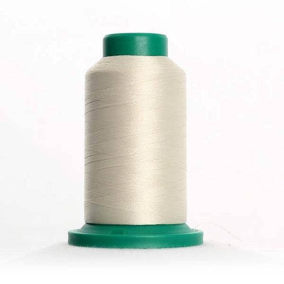 Isacord 5000m/5500yd 40wt solid trilobal polyester thread  number 0870 Muslin