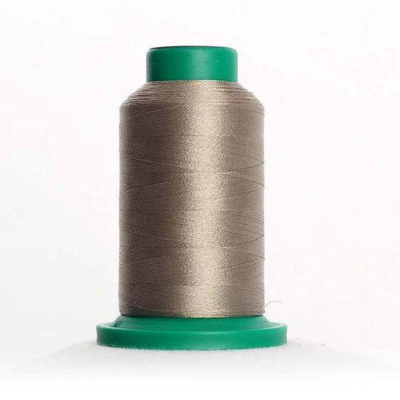 Isacord 5000m/5500yd 40wt solid trilobal polyester thread  number 0873 Stone