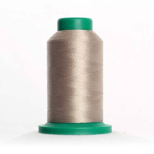 Isacord 5000m/5500yd 40wt solid trilobal polyester thread  number 0874 Gravel