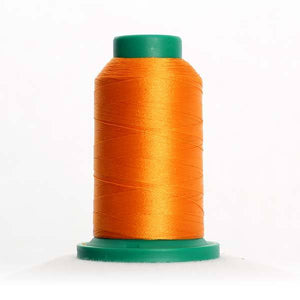 Isacord 5000m/5500yd 40wt solid trilobal polyester thread  number 0904 Spanish Gold