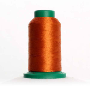 Isacord 5000m/5500yd 40wt solid trilobal polyester thread  number 0931 Honey
