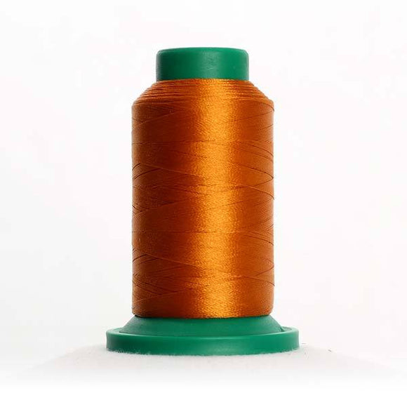 Isacord 5000m/5500yd 40wt solid trilobal polyester thread  number 0940 Autumn Leaf