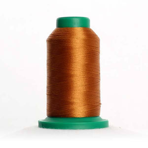 Isacord 5000m/5500yd 40wt solid trilobal polyester thread  number 0941 Golden Grain