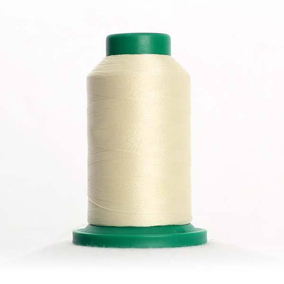 Isacord 5000m/5500yd 40wt solid trilobal polyester thread  number 0970 Linen