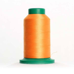 Isacord 1000m/1100yd 40wt solid trilobal polyester thread  number 1030 Passion Fruit