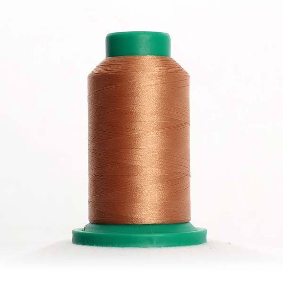 Isacord 1000m/1100yd 40wt solid trilobal polyester thread  number 1133 Peru