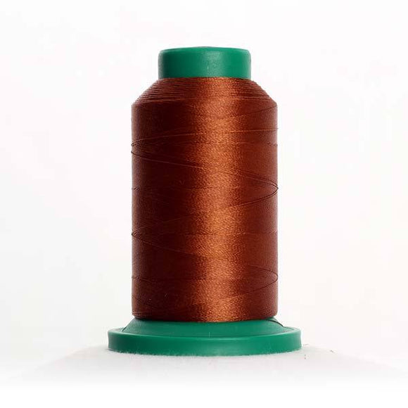 Isacord 5000m/5500yd 40wt solid trilobal polyester thread  number 1134 Light Cocoa