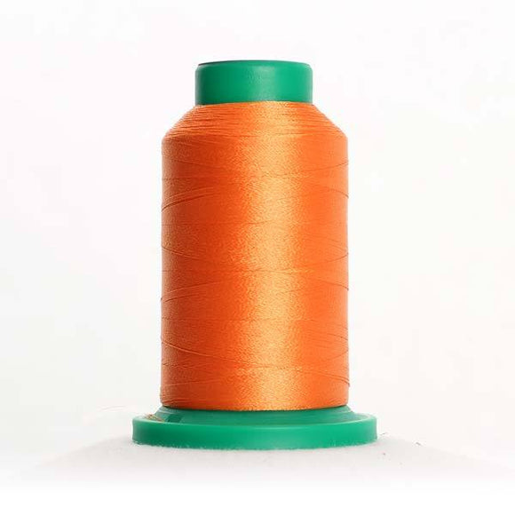 Isacord 5000m/5500yd 40wt solid trilobal polyester thread  number 1220 Apricot