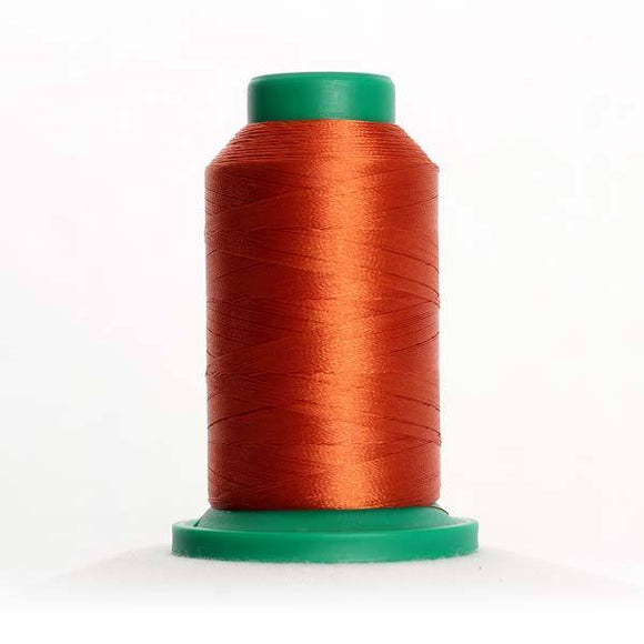 Isacord 5000m/5500yd 40wt solid trilobal polyester thread  number 1311 Date