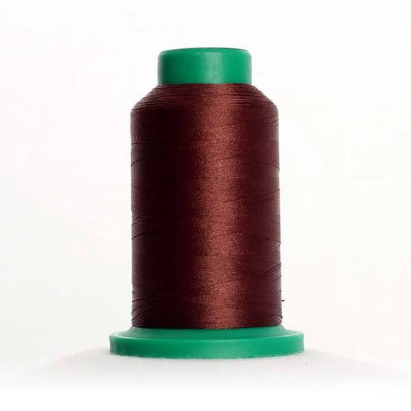 Isacord 5000m/5500yd 40wt solid trilobal polyester thread  number 1346 Cinnamon