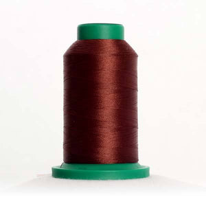 Isacord 5000m/5500yd 40wt solid trilobal polyester thread  number 1355 Fox