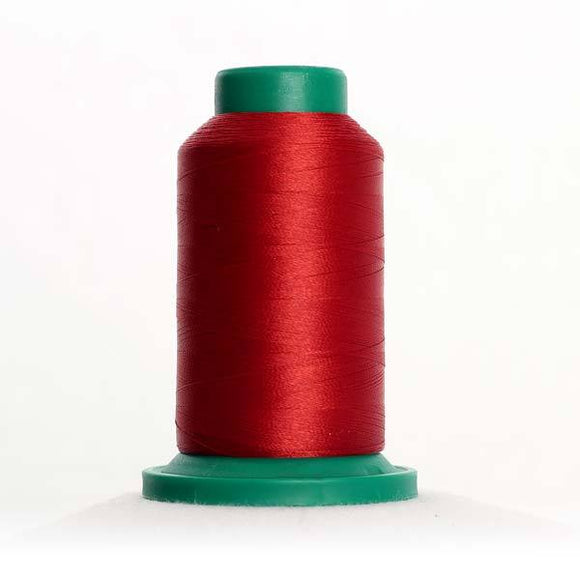 Isacord 5000m/5500yd 40wt solid trilobal polyester thread  number 1514 Brick