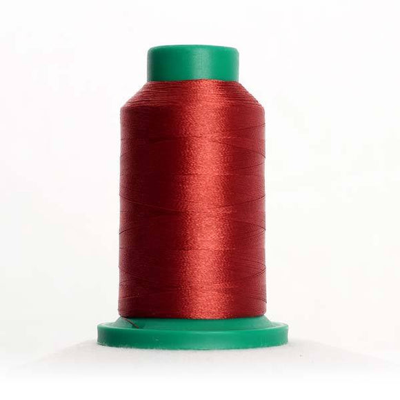 Isacord 5000m/5500yd 40wt solid trilobal polyester thread  number 1526 Apple Butter
