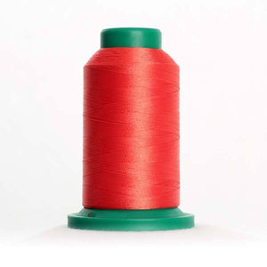 Isacord 5000m/5500yd 40wt solid trilobal polyester thread  number 1600 Spanish Tile