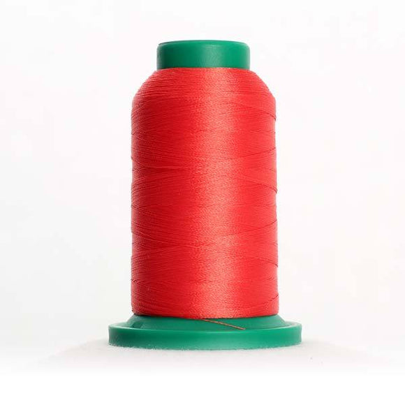 Isacord 1000m/1100yd 40wt solid trilobal polyester thread  number 1730 Persimmon