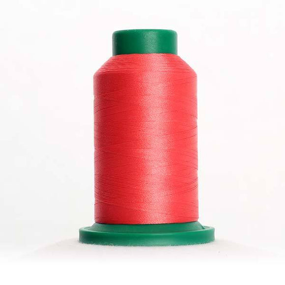 Isacord 5000m/5500yd 40wt solid trilobal polyester thread  number 1753 Strawberries N' Cream