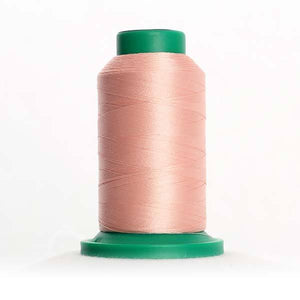 Isacord 5000m/5500yd 40wt solid trilobal polyester thread  number 1860 Shell