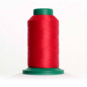 Isacord 5000m/5500yd 40wt solid trilobal polyester thread  number 1903 Lipstick