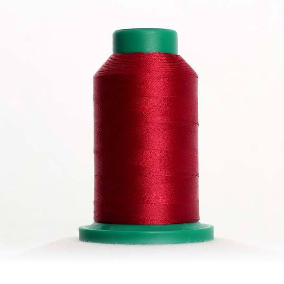 Isacord 5000m/5500yd 40wt solid trilobal polyester thread  number 1912 Winterberry