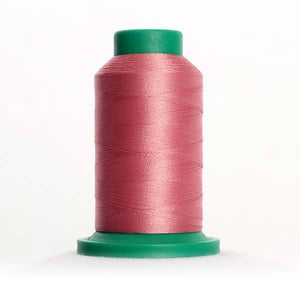 Isacord 5000m/5500yd 40wt solid trilobal polyester thread  number 2153 Dusty Mauve