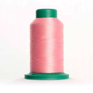 Isacord 5000m/5500yd 40wt solid trilobal polyester thread  number 2155 Pink Tulip