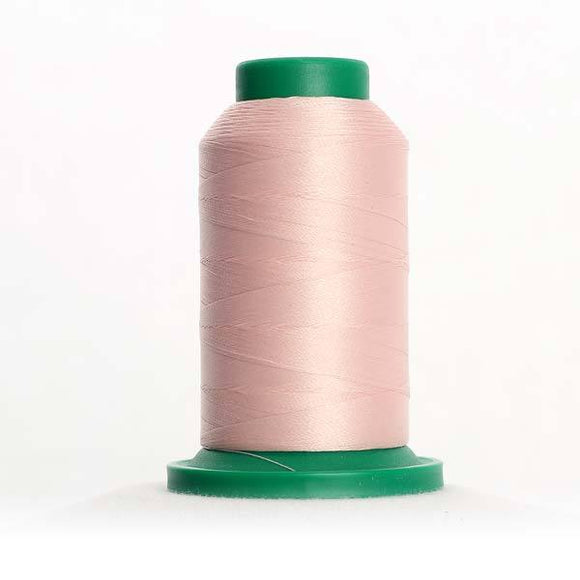 Isacord 5000m/5500yd 40wt solid trilobal polyester thread  number 2170 Chiffon
