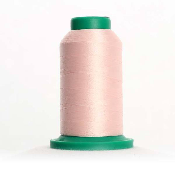 Isacord 5000m/5500yd 40wt solid trilobal polyester thread  number 2171 Blush