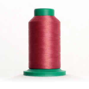 Isacord 5000m/5500yd 40wt solid trilobal polyester thread  number 2241 Mauve