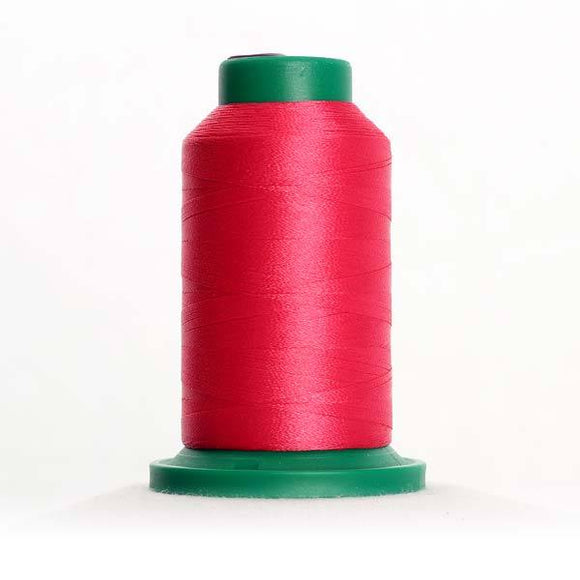 Isacord 5000m/5500yd 40wt solid trilobal polyester thread  number 2320 Raspberry