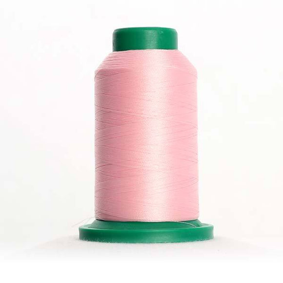 Isacord 5000m/5500yd 40wt solid trilobal polyester thread  number 2363 Carnation