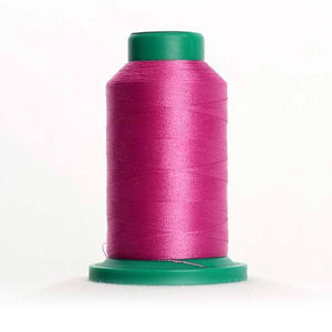 Isacord 1000m/1100yd 40wt solid trilobal polyester thread  number 2510 Roseate