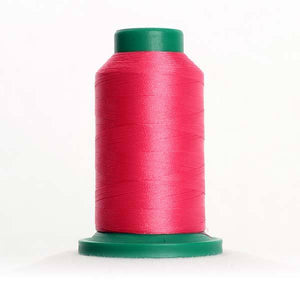 Isacord 5000m/5500yd 40wt solid trilobal polyester thread  number 2520 Garden Rose