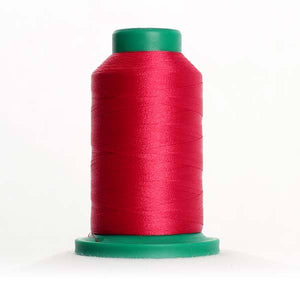 Isacord 5000m/5500yd 40wt solid trilobal polyester thread  number 2521 Fuschia