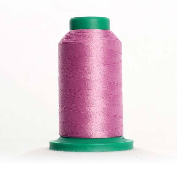 Isacord 5000m/5500yd 40wt solid trilobal polyester thread  number 2640 Frosted Plum
