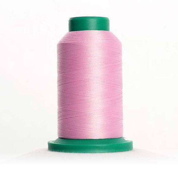 Isacord 5000m/5500yd 40wt solid trilobal polyester thread  number 2650 Impatiens