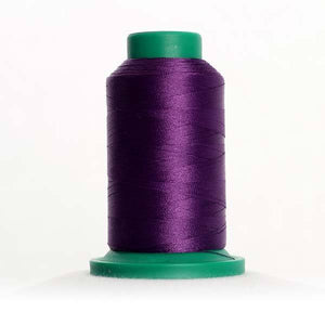 Isacord 1000m/1100yd 40wt solid trilobal polyester thread  number 2702 Grape Jelly