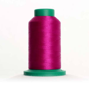 Isacord 1000m/1100yd 40wt solid trilobal polyester thread  number 2704 Purple Passion