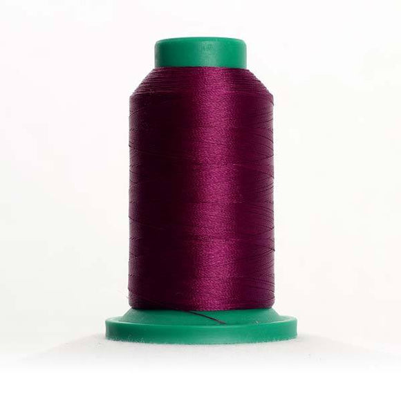 Isacord 5000m/5500yd 40wt solid trilobal polyester thread  number 2715 Pansy