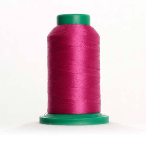 Isacord 1000m/1100yd 40wt solid trilobal polyester thread  number 2723 Peony