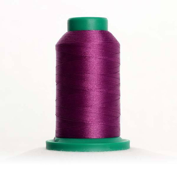 Isacord 5000m/5500yd 40wt solid trilobal polyester thread  number 2810 Orchid