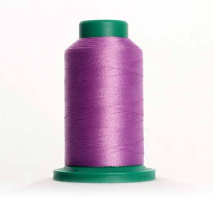 Isacord 5000m/5500yd 40wt solid trilobal polyester thread  number 2830 Wild Iris