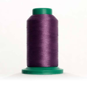 Isacord 5000m/5500yd 40wt solid trilobal polyester thread  number 2832 Easter Purple